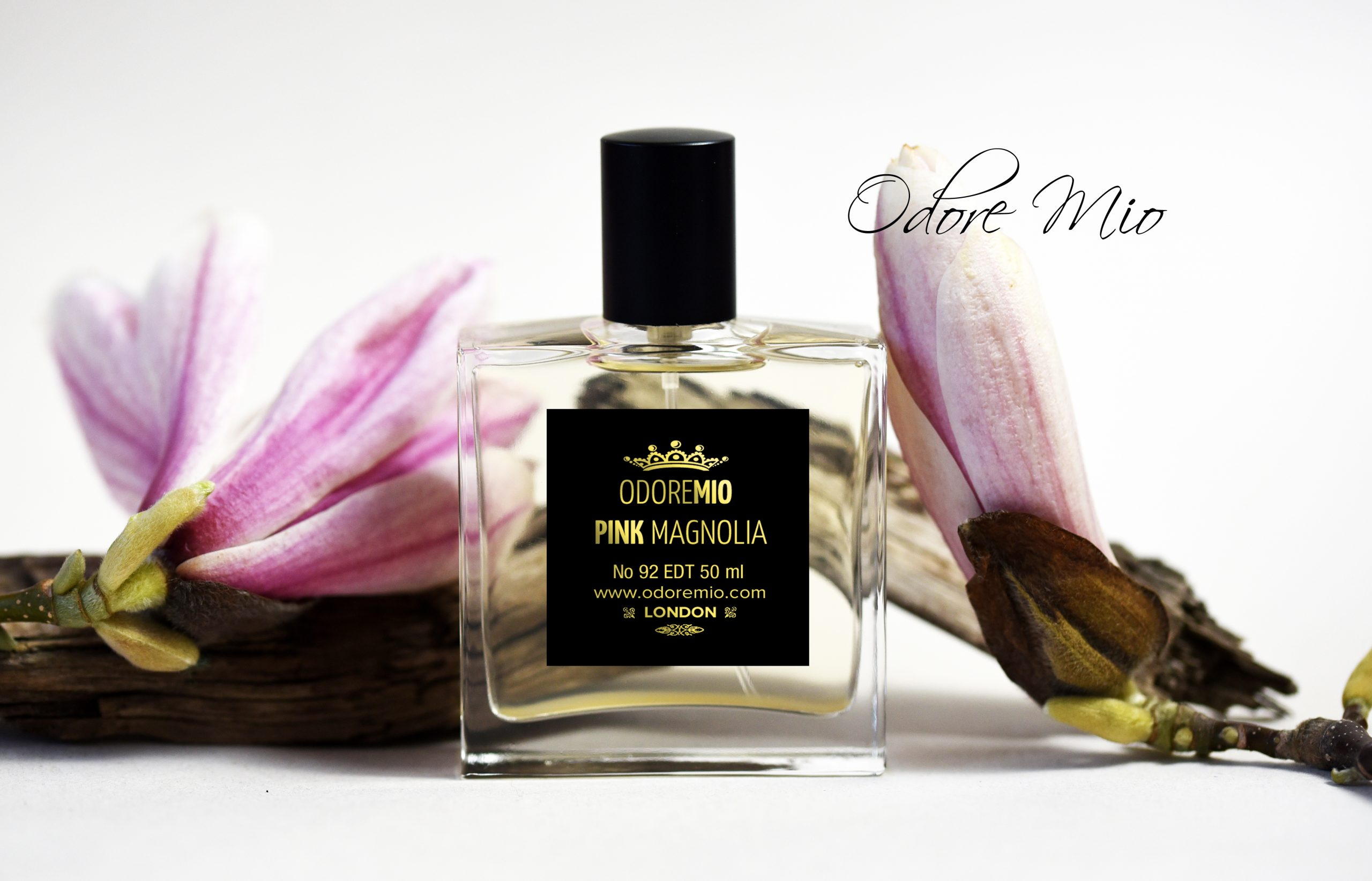 Pink Magnolia Perfume Gold