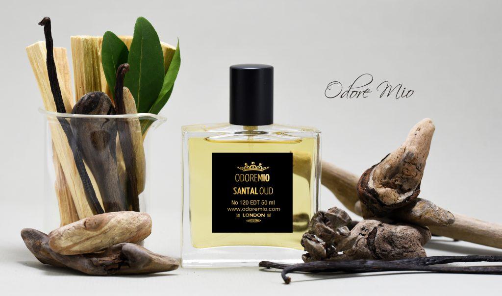 Santal Oud Perfume Gold