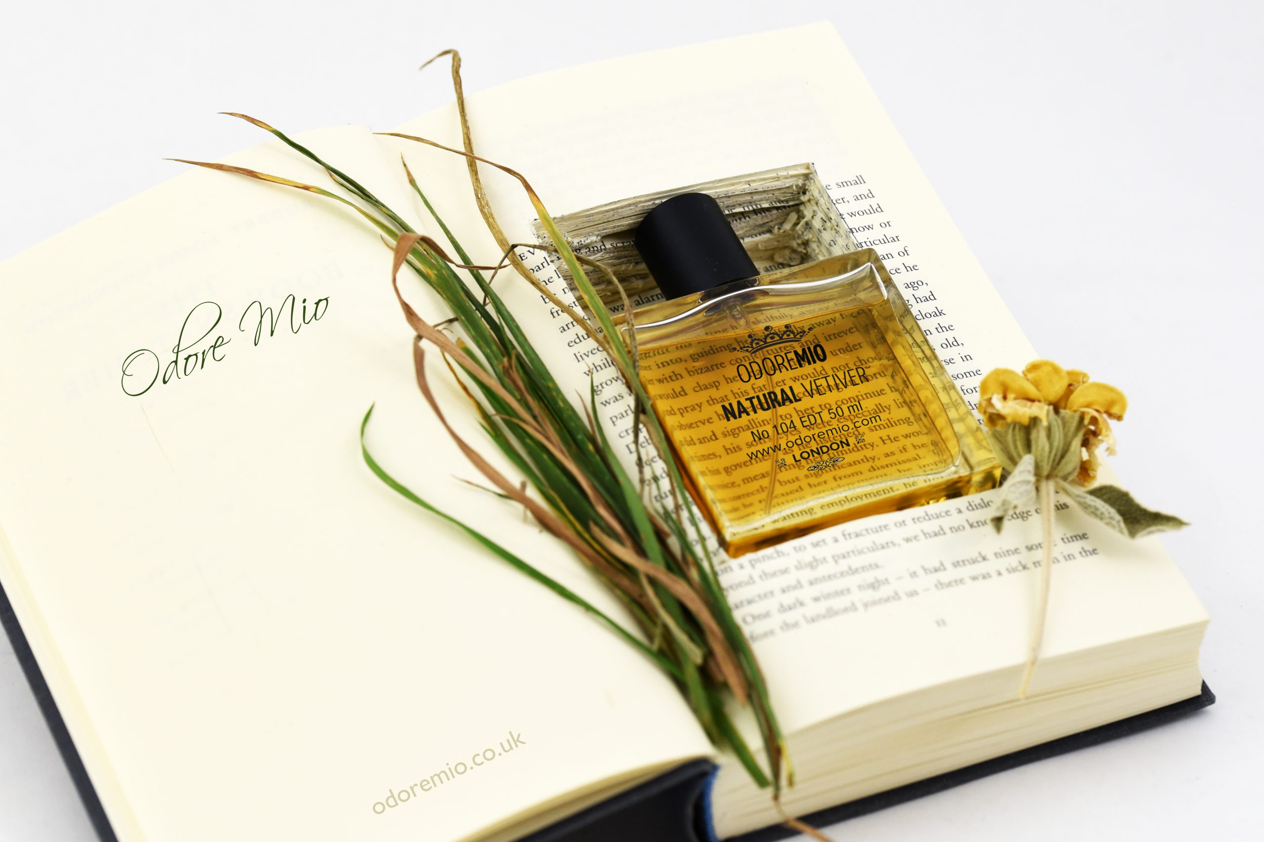 Odore Mio Natural Vetiver Perfume